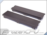 Aquacomputer Airplex Modularity 240 Radiator Replacement Side Panel Set - Anodized Black (33534)