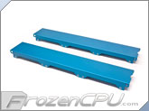 Aquacomputer Airplex Modularity 360 Radiator Replacement Side Panel Set - Anodized Blue (33538)