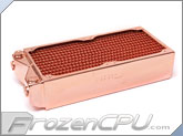 Coolgate Dual 120mm Ultimate Heat Exchanger Radiator - Copper Edition (CG-240CuP)