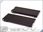 Aquacomputer Airplex Modularity 140 Radiator Replacement Side Panel Set - Anodized Black (33531)