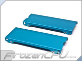 Aquacomputer Airplex Modularity 140 Radiator Replacement Side Panel Set - Anodized Blue (33529)