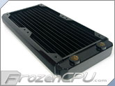 Black Ice GT Stealth 240 Radiator - Black