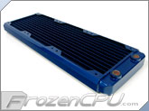 Black Ice GT Stealth 360 Radiator - Blue