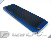 Black Ice GT Stealth 360 X-Flow Radiator - Blue