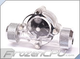 Bitspower G1/4 Thread Flow Sensor - Silver (BP-FS-CLBKSL)