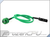 Monsoon Premium G 1/4 LED Stop Fitting - Green / Green LED (MON-LPL-GR)
