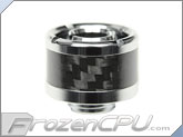 "ModMyToys Carbon Fiber Enhanced Compression Fitting - 7/16""ID x 5/8""OD - Single Chrome (MMT-CFF-CH-BK-71658-1)"