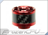 "ModMyToys Carbon Fiber Enhanced Compression Fitting - 1/2""ID x 3/4""OD - Single Red (MMT-CFF-RD-BK-1234-1)"
