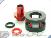 "Monsoon Chain Gun Compression Fitting - 3/8""ID x 1/2""OD - Single Red (CGF-3812-1-RD)"
