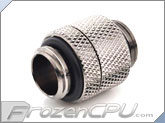 Bitspower G 1/4 Thread Male to Male Rotary Extender - Black Sparkle (BP-BSRG)