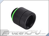 Bitspower G1/4 Anti-Twist Rotary Extender / Adapter - Matte Black (BP-MBDR-C)