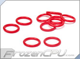 Bitspower Deep Bold Red O-Ring - (10 Pack) (BP-WTP-010-DRD)