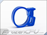 "Premium Delrin Tubing Clamps - 3/4"" OD - UV Blue"