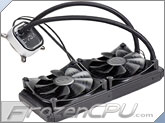EVGA CLC 280 Liquid / Water CPU Cooler, 400-HY-CL28-V1, 280mm Radiator, RGB LED with EVGA Flow Control Software