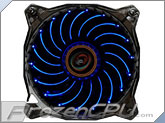 Lepa 120mm x 25mm Blue Casion PWM Fan - Blue LED <b>6 Lighting Effects!!</b> (LPVC1C12P-BL)
