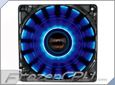 Lepa 120mm x 25mm Chopper Cycling LED Fan - Blue w/ Dynamic Lighting Effects!!! (LPCP12N-BL)