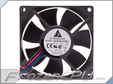 Delta AFB0812SH-F00 80mm x 25mm High Speed Fan - Bare Lead (AFB0812SH-F00)