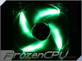 BitFenix Spectre LED 140mm PWM Fan - Green (BFF-BLF-P14025G-RP)