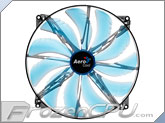 Aerocool Silent Master 200mm x 20mm Ultra Thin Fan - Blue LED