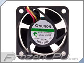 Sunon MagLev-Vapo 40mm x 20mm Fan w/ Mini 3-Pin VGA Connector - 5200 RPM (40KDE1204PKV3-VGA)