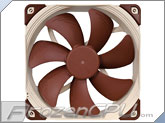 Noctua NF-A14 ULN 140 x 25mm Fan (Ultra Low Noise - 650/800 RPM)