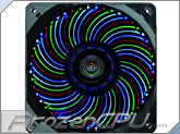 Enermax T.B. Vegas 120mm x 25mm Quad LED PWM Fan w/ Focus Blades - Blue / Red / Green / White (UCTVQ12P)