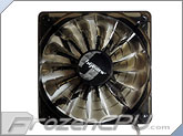BGears B-PWM 120mm x 25mm High Static Pressure PWM Fan - 2000 RPM - Translucent Black