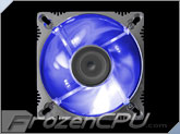 Evercool 80mm LED Aluminum Fan - Blue
