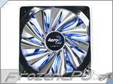 AeroCool 140mm Streamliner Fan w/ 120mm Adaptor - BLACK
