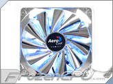 AeroCool 140mm Streamliner Fan w/ 120mm Adaptor - SILVER