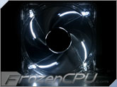 Aerocool Silver Lightning 120mm Silent White LED Fan