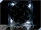 Aerocool Silver Lightning 140mm Silent White LED Fan