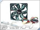 BGears b-flexi120 120mm 4-in-1 LED Case Fan - Blue/Green/Red - 49 CFM