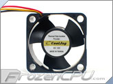 Cooljag Everflow 40mm x 20mm Fan (124020BL)