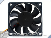 Cooljag Everflow 70mm x 15mm Thermally Controlled Fan (127015BUT)