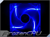 Yate Loon 120mm x 25mm UV Reactive LED Fan - UV Blue (D12SH-124UB)