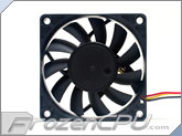FrozenCPU 70mm x 15mm DC Fan (DFC701512M)