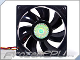 Cooler Master 80x25mm Dual Ball Silent Fan (Y720C8D-29K1-GP) - 45.8CFM