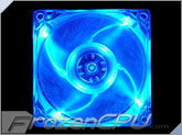 Logisys Quad Blue LED 80mm Fan (LT400BL)