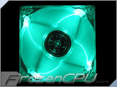 Quad Green LED 80mm Fan