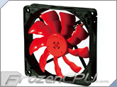 "Enermax Magma 120mm x 25mm Fan w/ ""Twister"" Bearing Technology - Black/Red (UC-MA12)"