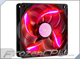 Cooler Master SickleFlow 120x25mm Super Silent Fan  - Red LED - (R4-L2R-20AR-R1)