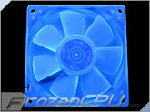 Blue UV Reactive 92mm Fan