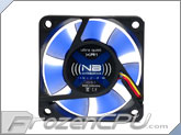 Noiseblocker NB-BlackSilentFan XR1 60mmx25mm Ultra Quiet Fan - 1600 RPM - 11 dBA