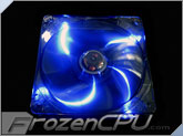 Aerocool V12XT Blackline Edition 120mm x 25mm Silent Blue LED Fan