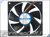 Scythe Kama Flow 2 92mm x 25mm Fan - 1700 RPM w/ Extra Fluid Dynamic Bearing (SP0925FDB12M)