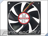 Scythe Kama Flow 2 92mm x 25mm Fan - 2200 RPM w/ Extra Fluid Dynamic Bearing (SP0925FDB12H)