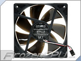 Noiseblocker NB-BlackSilentPro PL-1 120mm x 25mm Ultra Quiet Fan - 900 RPM - 11 dBA