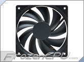 Akasa 120mm x 25mm Auto Thermal Fan - (800 - 2300 RPM / 26�C - 45�C) - (AK-174BKT-B)
