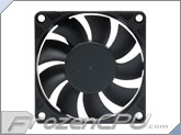 Akasa 70mm x 15mm Auto Thermal Fan - (3000 - 6000 RPM / 32°C - 45°C) - (AK-179BKT-C)